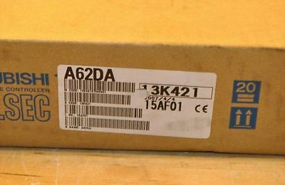 New In Box Mitsubishi PLC Module A62DA pdh