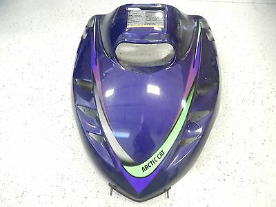 Arctic Cat Snowmobile 1998 Jag 440 Deluxe Hood With Decals 0718-198