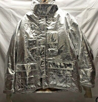 Globe GX7 Aluminized Bunker Firefighter Jacket PBI Liner Turn Out Gear 08/11