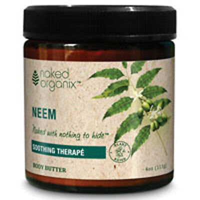 Neem Body Butter Fragrance Free 4 OZ by Organix South