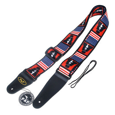 Adjustable Guitar Strap Guitar Belt For Acoustic Electric Guitar Bass