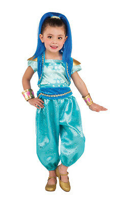 Girls Shimmer and Shine Genie Shine Costume
