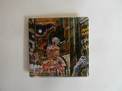 Vintage 80's IRON MAIDEN Somewhere In Time Rock Pin  (B)