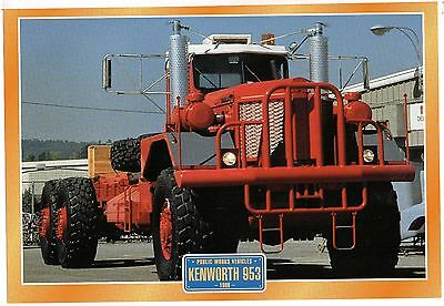 Kenworth 953            1980        Glossy   Picture (T453)