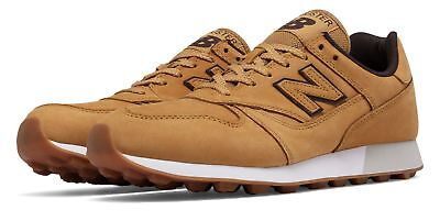 New Balance Men's Trailbuster Classic Shoes Tan with Brown
