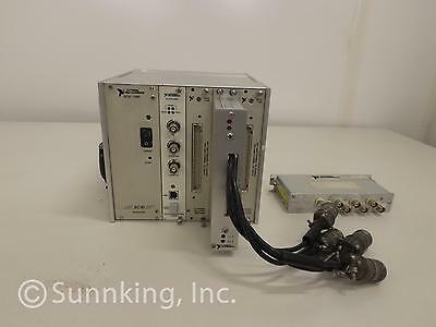National Instruments SCXI-100 Mainframe With, SCXI-1327, SCXI1600 & MORE!!