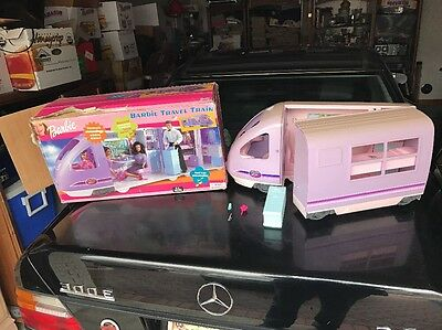 BARBIE TRAVEL TRAIN 2001  MOVING WINDOW SCENERY Original Box