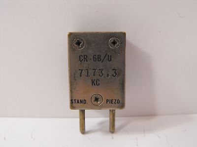 (1) Stand Piezo 7173.3 KHz / 7.1733 MHz FT-243 Crystal for 40 Meters Ham Radio