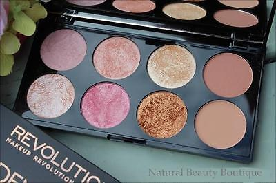 Makeup Revolution~Ultra Blush Palette - Bronzer, Highlight Powder - Golden Sugar