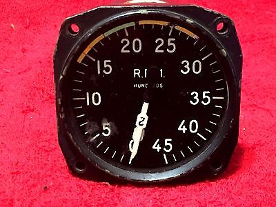 Chicago Flexible Shaft Co Electric Dual Tachometer Indicator P/n 8Dj19Aaw