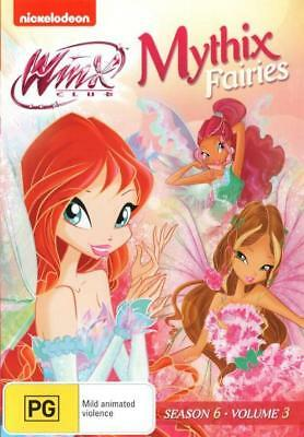 Winx Club: Mythix Fairies - Season 6 Volume 3 (DVD) Brand New