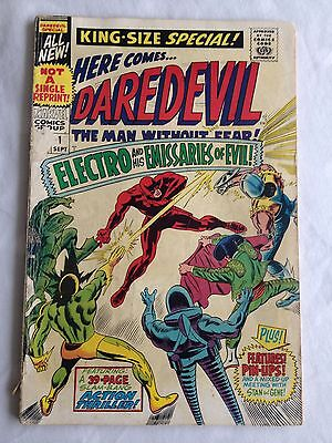 Marvel Comics Daredevil #1 Sept 1967 Kingsize Special