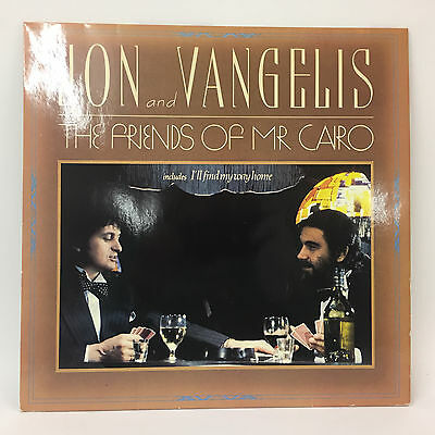 Jon and Vangelis - The Friends of Mr Cairo   polydor   LP: Near Mint