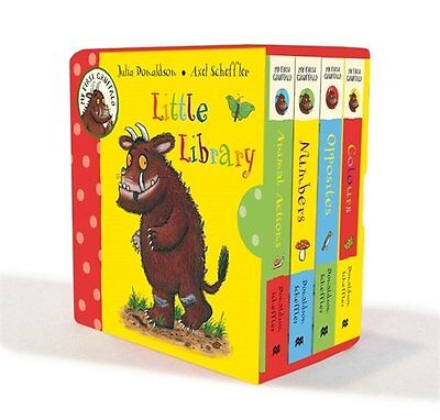 My First Gruffalo Little Library Exciting For Toddler Children Fun Book Gift New