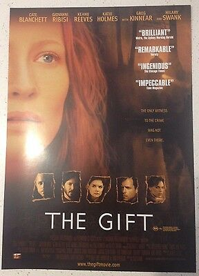"""Promotional 7"""" X 11"""" Australian Release Movie Flyer - The Gift (2001)"""
