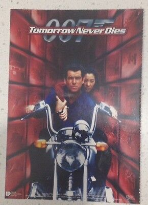 "Promotional 5.5"" X 4"" Australian Release Movie Postcard - Tomorrow Never Dies #1"