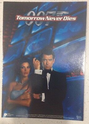 "Promotional 5.5"" X 4"" Australian Release Movie Postcard - Tomorrow Never Dies #2"