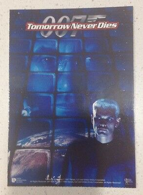 "Promotional 5.5"" X 4"" Australian Release Movie Postcard - Tomorrow Never Dies #3"