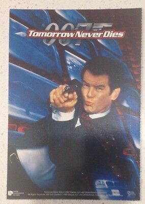 "Promotional 5.5"" X 4"" Australian Release Movie Postcard - Tomorrow Never Dies #4"