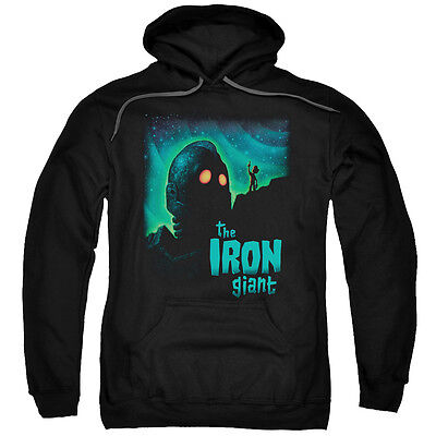 Iron Giant Movie LOOK TO THE STARS Licensed Adult Heather T-Shirt All Sizes