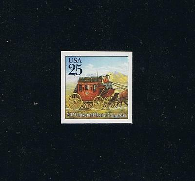 US Sc 2438a-d, 1989 Imperforate Singles  - Universal Postal Union Congress