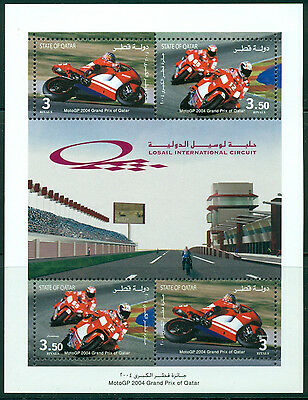 Qatar Scott #976 MNH Grand Prix Motorcycle Racing CV$8+