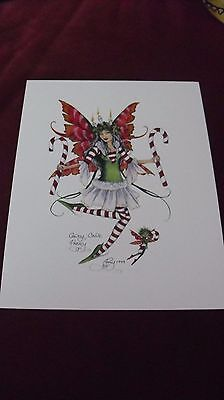 Amy Brown - Candy Cane  - OUT OF PRINT -  Retired  Free Shipping!