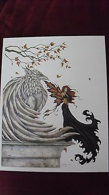 Amy Brown -  Faery  Fairy Faerie  - OUT OF PRINT -  Retired  Free Shipping!