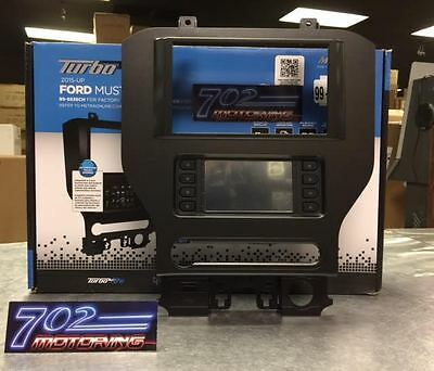 Metra 99-5840Ch 2015 2016 2017 Ford Mustang Double Din Dash Kit Hvac Sync Instal