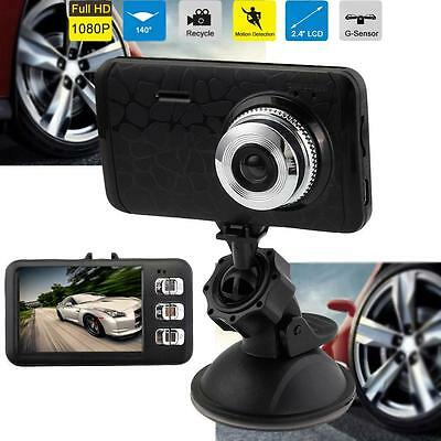 1080P HD Car DVR Vehicle Camera Video Recorder Dash Cam Night Vision G-sensor WT