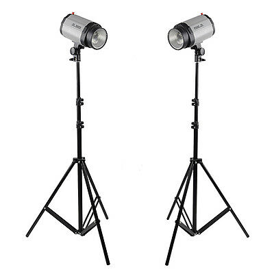 Neewer 2 Stk. Lichtstative Set 9 Fu? 260 cm für Video Portr?t Produktfotografie