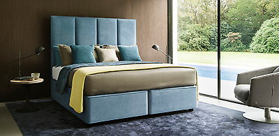 Bed Head Faux Leather Headboard 3FT Single 4FT6 Double 5FT Kingsize- FLOOR STAND