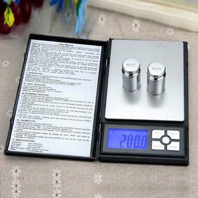 Useful 500g/0.01g Digital Precious Metals Coin Pearl Weight Pocket Scale Tool WT