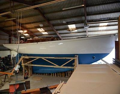 New Classic Yacht Ed Burnett Design Investment Opportunity Funds To Complete