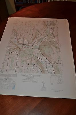 1940's Army topographic map South Onondaga  New York -Sheet 5769 I NW