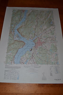 Peeksville & West Point New York vintage 1940's topographic map