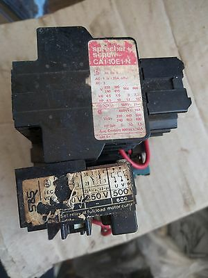 SPRECHER + SCHUH CA1-10E1-N Main & Auxiliary Contacts + CT 1-10 Relay