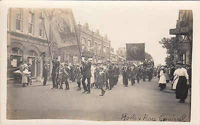 Horley Peace Carnival, Surrey, Real  photo, old postcard, unposted