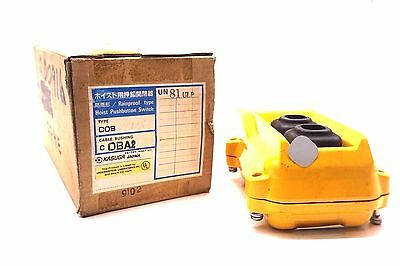 New Kasuga Un81Ulp Hoist Push Button Switch Type Cob Cob81Ulp