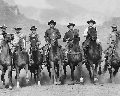 1960 THE MAGNIFICENT SEVEN Steve McQueen Charles Brunson 8x10 Photo Poster Print