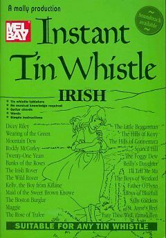 Instant Tin Whistle - Irish - NEW - 9781899512058 by Mallinson, Dave