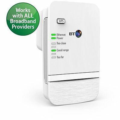 Boost Your Wi-Fi Internet Range Extender BT Kit Faster Booster Signal Wireless