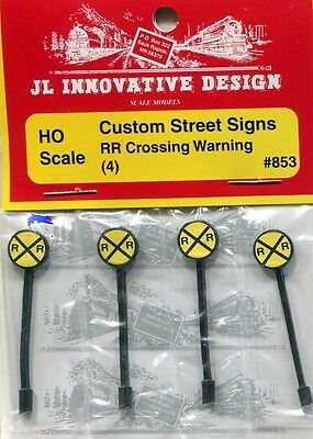 Ho Scale:  Jl Innovative Design 853:  Rr Crossing Warning