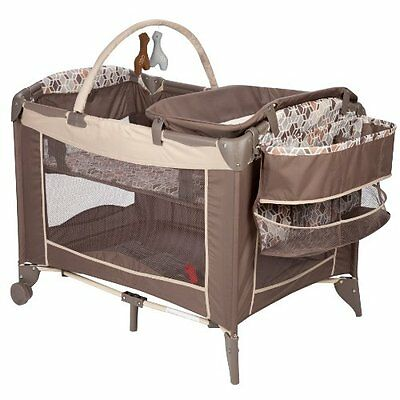 Baby Newborn Child Bed Crib Bassinet Cradle Pack Changer Portable Travel Playard