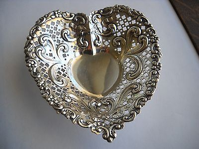 Sterling Silver Heart-Shaped Dish - Gorham - #966