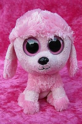 "Ty Beanie Boo's ~ PRINCESS THE POODLE ~ 6"" Boo Soft Plush Toy 2011"
