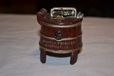 White Lily Washer Co. Davenport Iowa Advertising Inkwell
