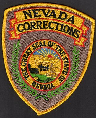 Nevada Corrections Shoulder Patch