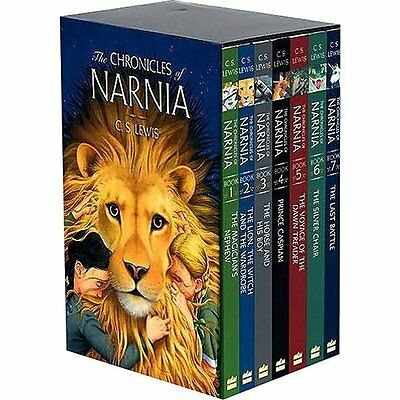 The Chronicles of Narnia Complete 7 - Audio Book Collection C.S. Lewis