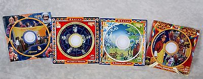 All 4 Bhutan CD Stamps Coronation Voting Happiness 100 Years of Monarchy Harmony